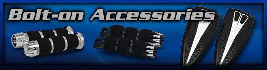 Motorcycle Bolt On Accessories