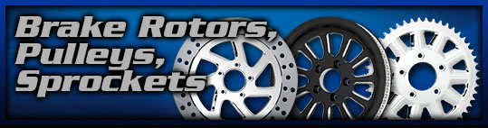 Motorcycle Pulleys Rotors Sprockets