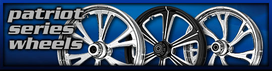 Motorcycle Wheels Patriot Series