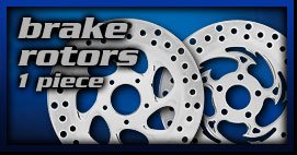 Yamaha Cruiser Brake Rotors 1p
