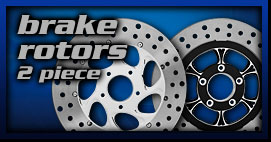 Yamaha Cruiser Brake Rotors 2p