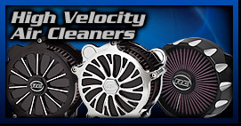High Velocity Motorcycle Air Cleaners