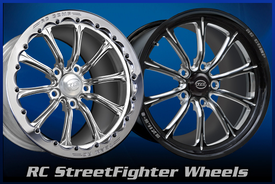 RC Street Fighter Wheels