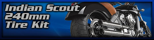 Indian Scout 240mm Tire Kit