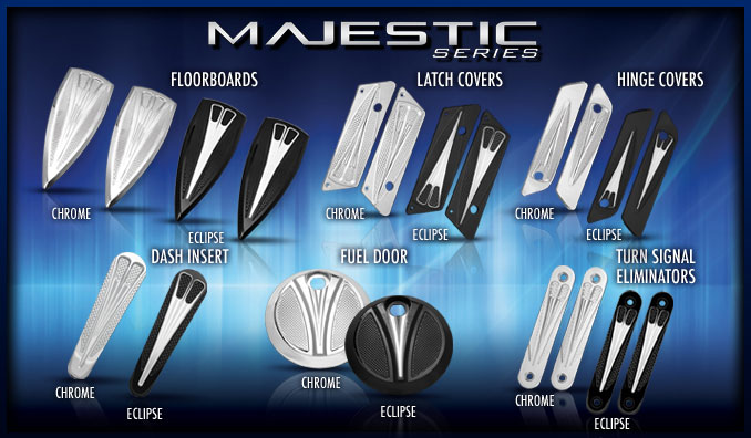 Motorcycle Accessories - Majestic Series