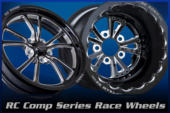 Automotive Drag Race Wheels and Accessories - RC Components